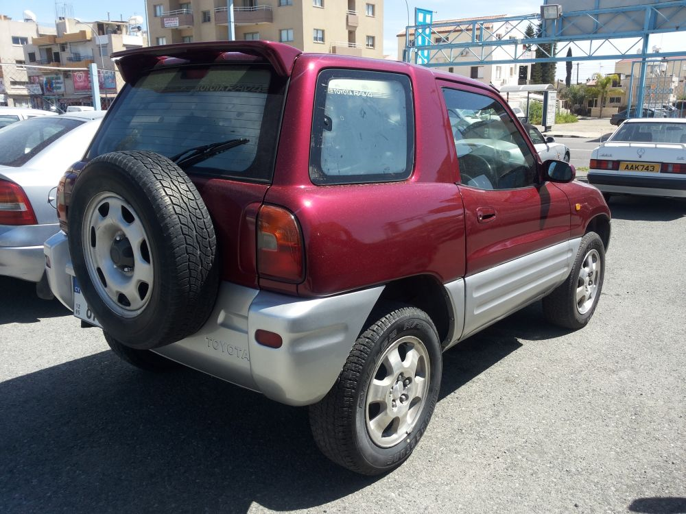 toyota rav4 for sale limassol cyprus garage. Black Bedroom Furniture Sets. Home Design Ideas