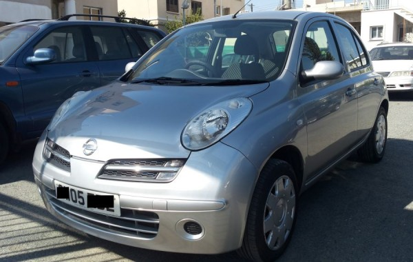 Nissan Micra for sale Cyprus Limassol Garage