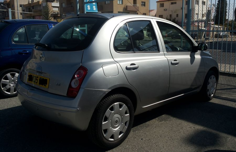 Nissan Micra for sale rear view